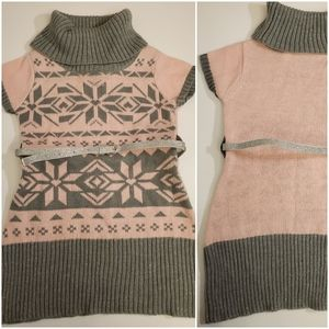 New Piper Brand Short Sleeve Sweater Top/dress
